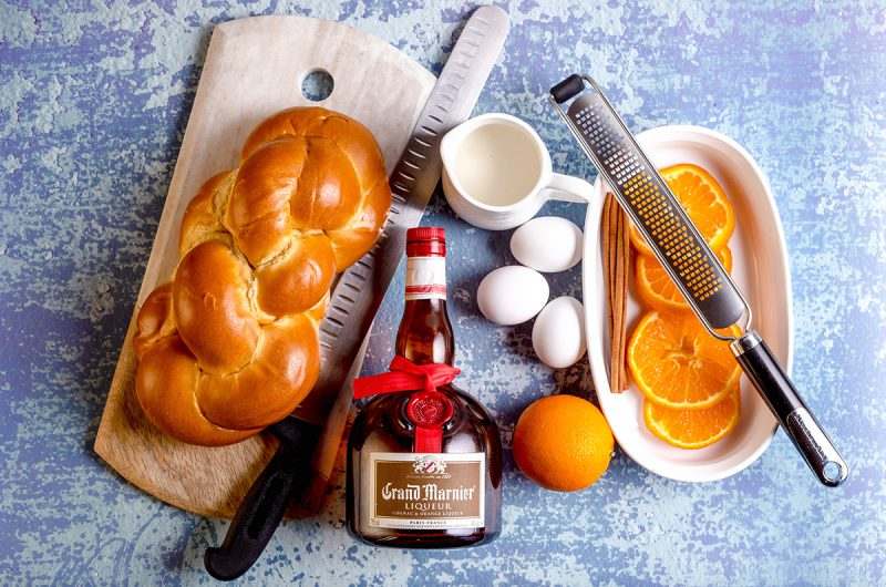 Grand Marnier-Infused French Toast