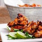 Air Fryer / Indoor Grill Garlic Lime Chicken Wings