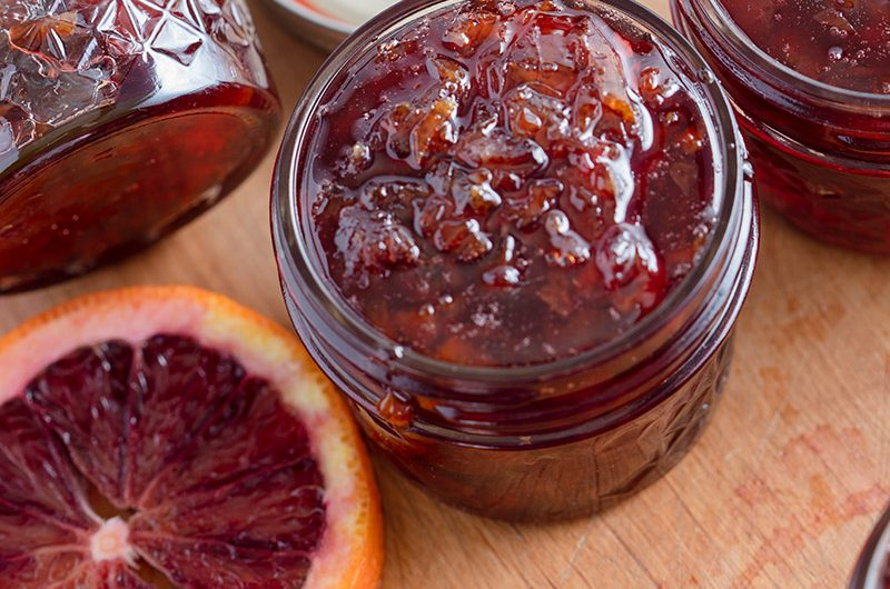Homemade Blood Orange Marmalade