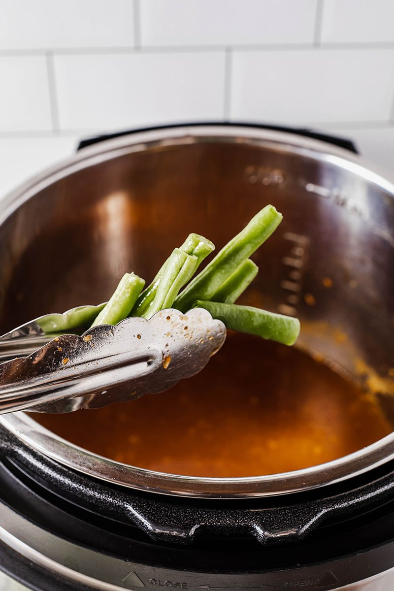 place green beans in instant pot