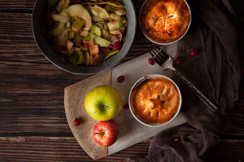 Air Fryer Mini Cranberry Apple Pies