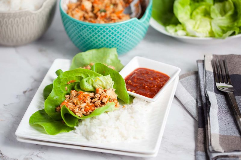 PF Chang's Chicken Wraps