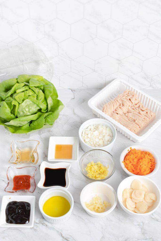 PF Chang Copycat Lettuce Wraps ingredients