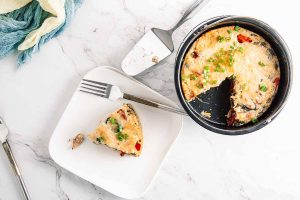 Instant Pot Breakfast Frittata for Two