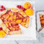Peach Raspberry Crostata