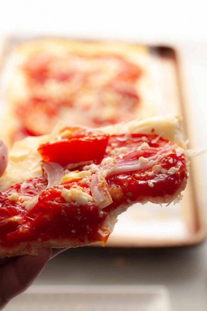 slice best tomato tart
