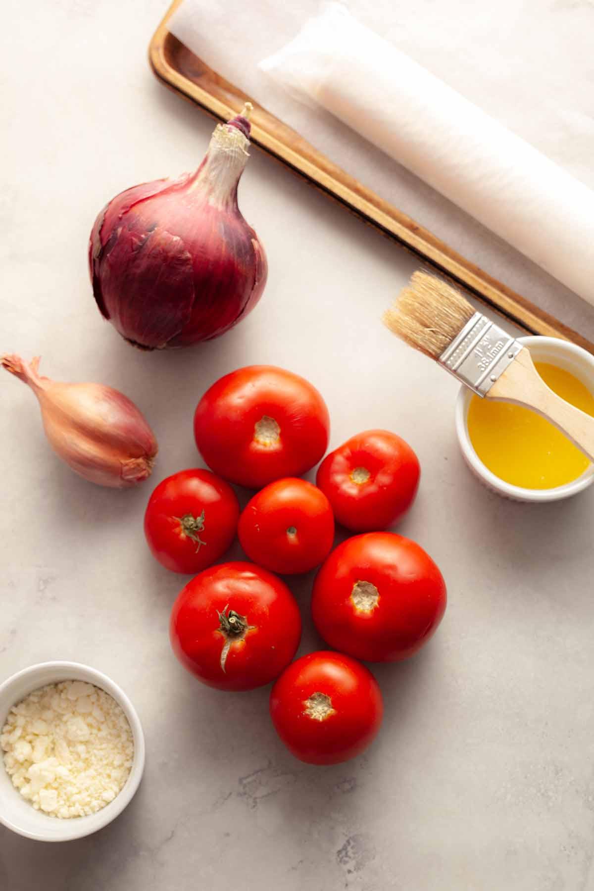 best tomato tart ingredients