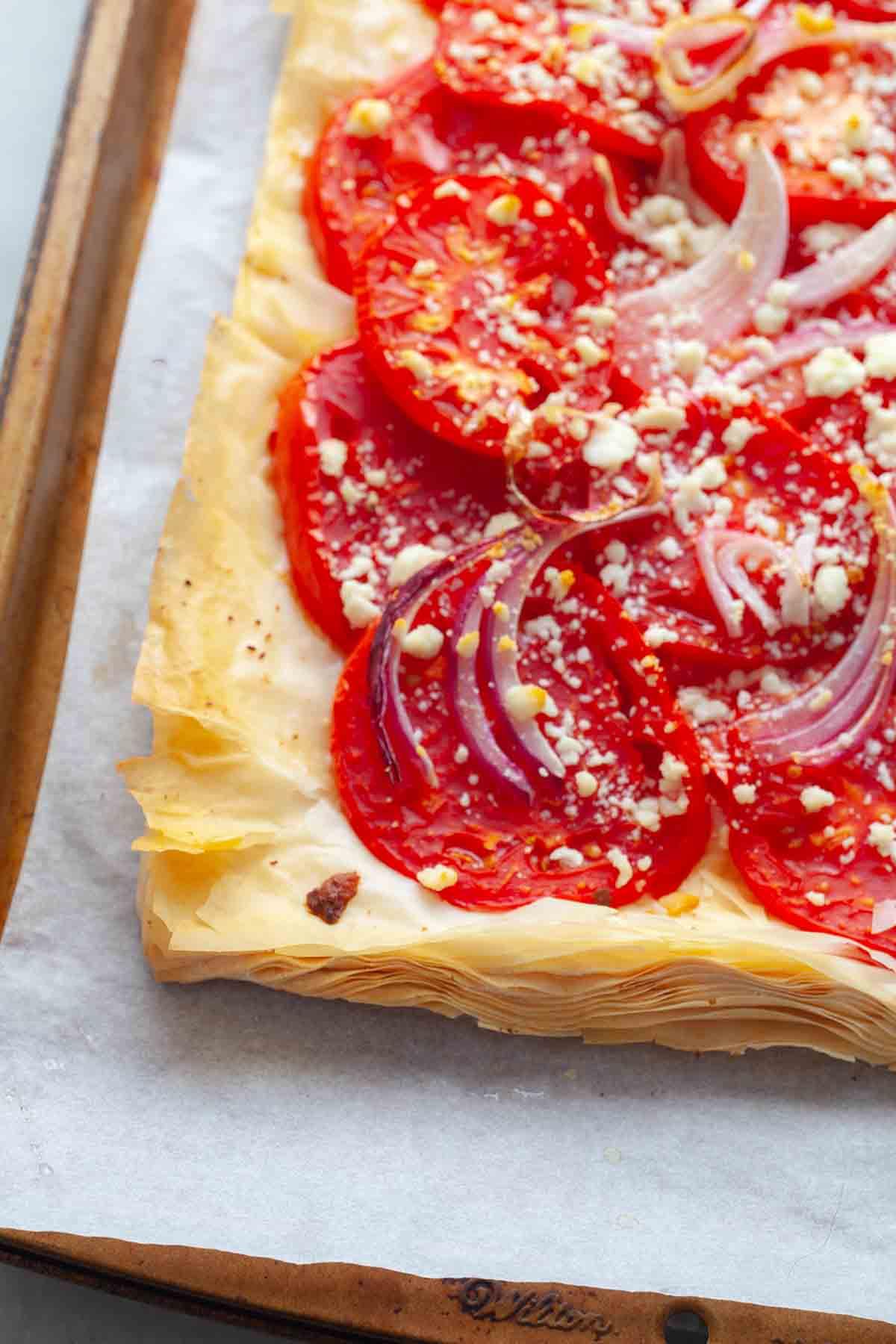best tomato tart recipe cooked